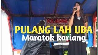 Pulang lah uda(Yen rustam) cover yudhia live KN7000-YEN RUSTAM