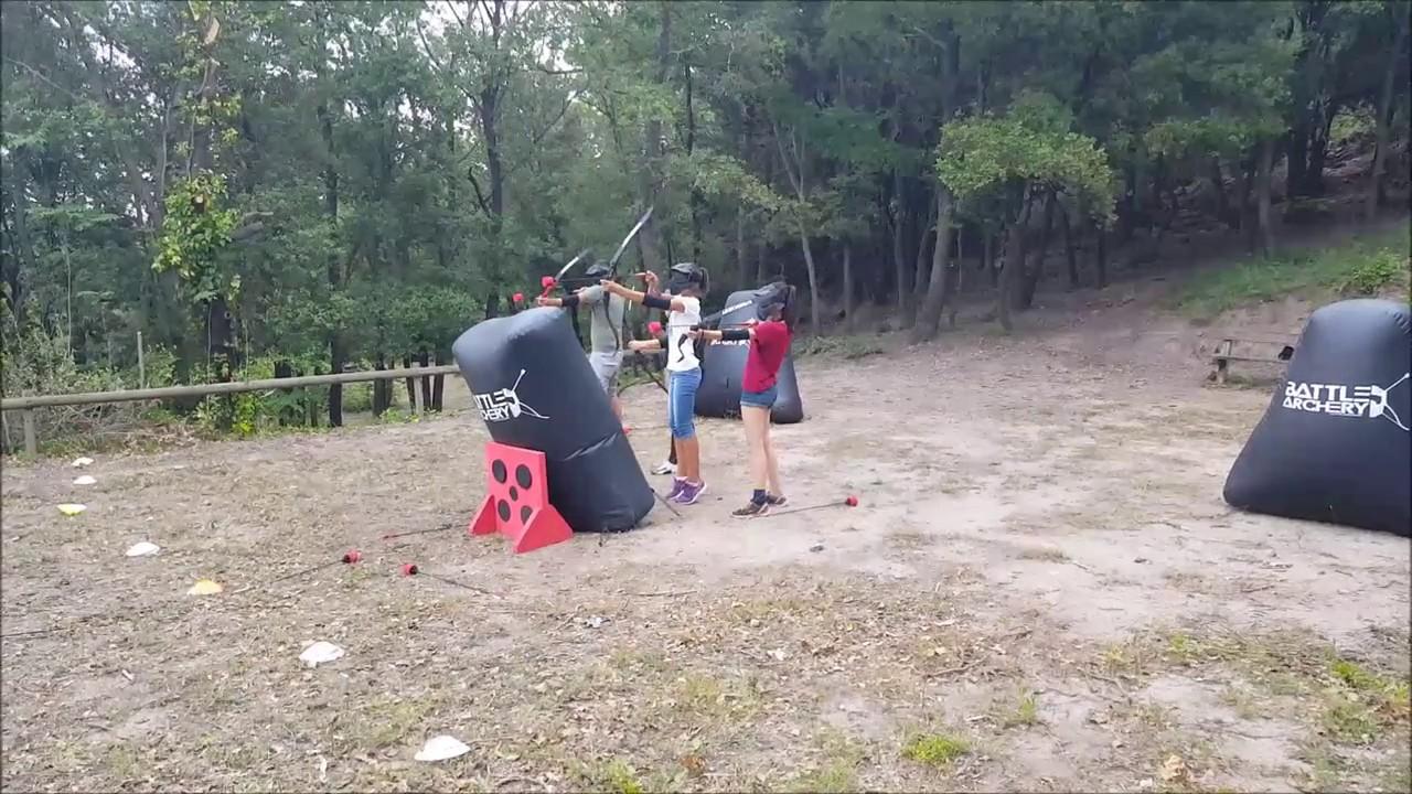 Le port de casque au Battle Archery
