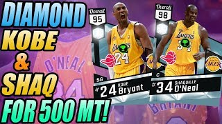 DIAMOND KOBE AND SHAQ FOR 500 MT! NBA 2K17 Top 5 Snipes of the Week
