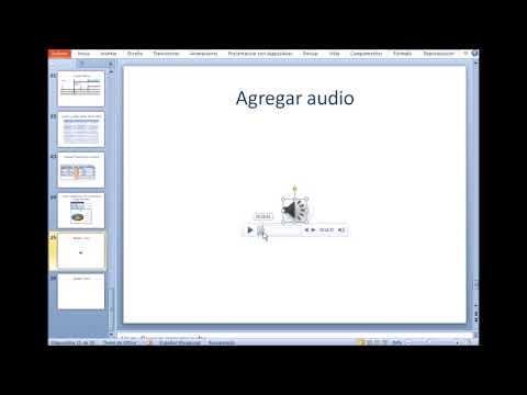 Insertar Audio y Video en PowerPoint 2010