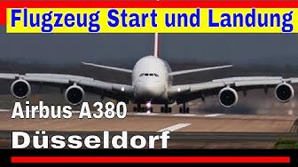 Flugzeug Start & Landung - Flugzeuge starten und landen vom Flughafen Düsseldorf