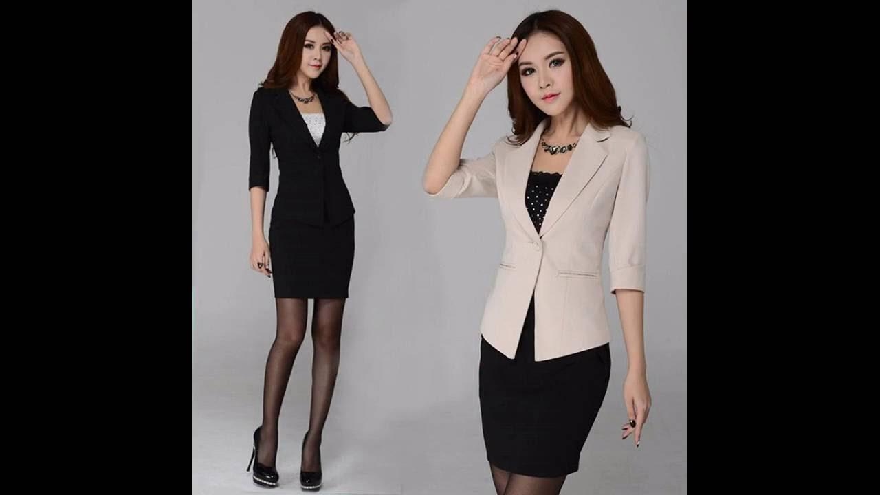 Ropa de moda formal para mujer