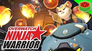 WRECKING BALL OBSTACLE COURSE! | Overwatch Ninja Warrior