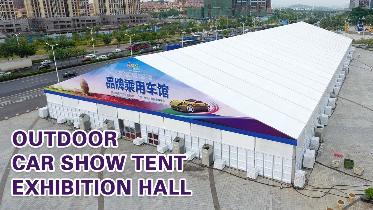 Outdoor Car Show Tent Exhibition Hall Tent Provided By Liri Tent - Car show tent