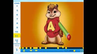 How to draw Alvin (Alvin and the Chipmunks) - Drawing Tutorial Video