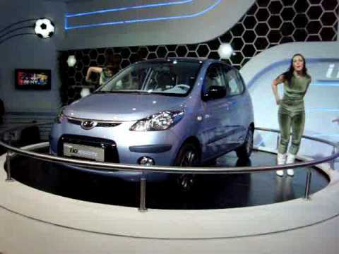 Hyundai I10 Electric Launch At Autoexpo 2010
