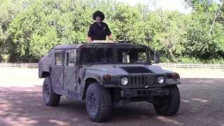 Johnny Magic H-1 Hummer Duramax Diesel conversion Military Humvee vs H1 Hybrid