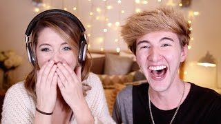 Speech Jammer Challenge with Mark | Zoella