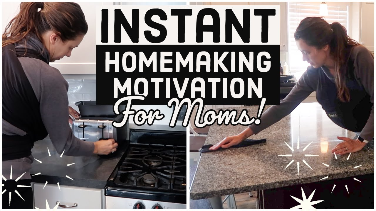 *NEW* INSTANT CLEANING MOTIVATION 💫 CLEAN WITH ME 2020 (HOMEMAKING INSPIRATION FOR MOMS)