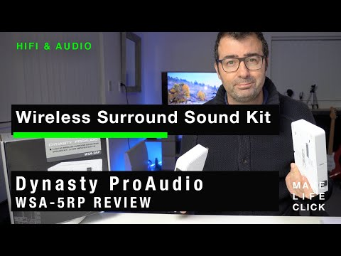 Make Wired Speakers Wireless - Surround Sound - Dynasty ProAudio WSA-5RP Review
