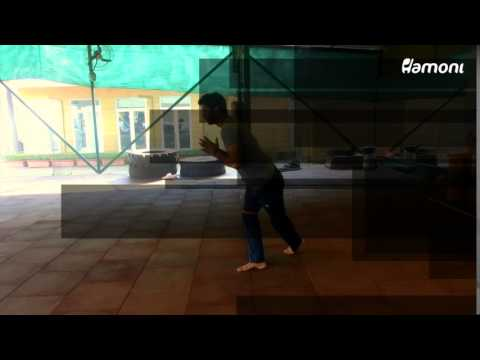 #FitnessFriday- Banded Skater Toe Taps