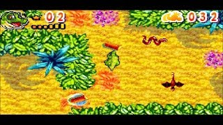 The Land Before Time: Into The Mysterious Beyond GBA Gameplay