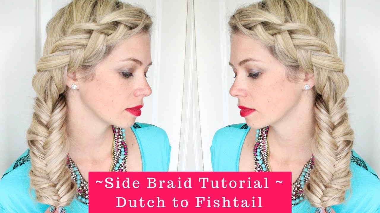 how to make a side fishtail braid