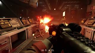 Wolfenstein Area 52 Area 51 New Collosus The Space Train James Campbell's Great Capture.