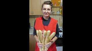 Французский багет , приготовление ,кухня крош