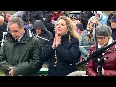 Apparizione Madonna di Trevignano Romano - 3 Aprile 2019 - YouTube