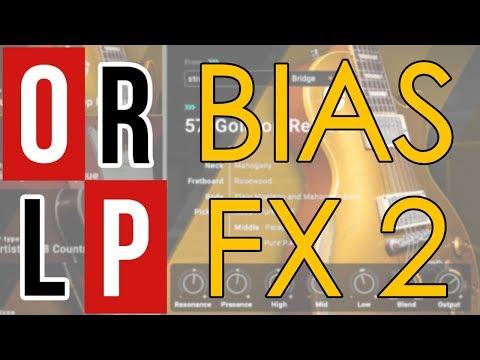 Bias FX 2 - TEST EN LIVE