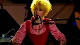 Baixar Cindy Lauper - Time after time (World Liberty Concert 1995)