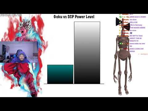 Goku vs SCP Power Level REACTION | THIS IS WILD LMFAO |