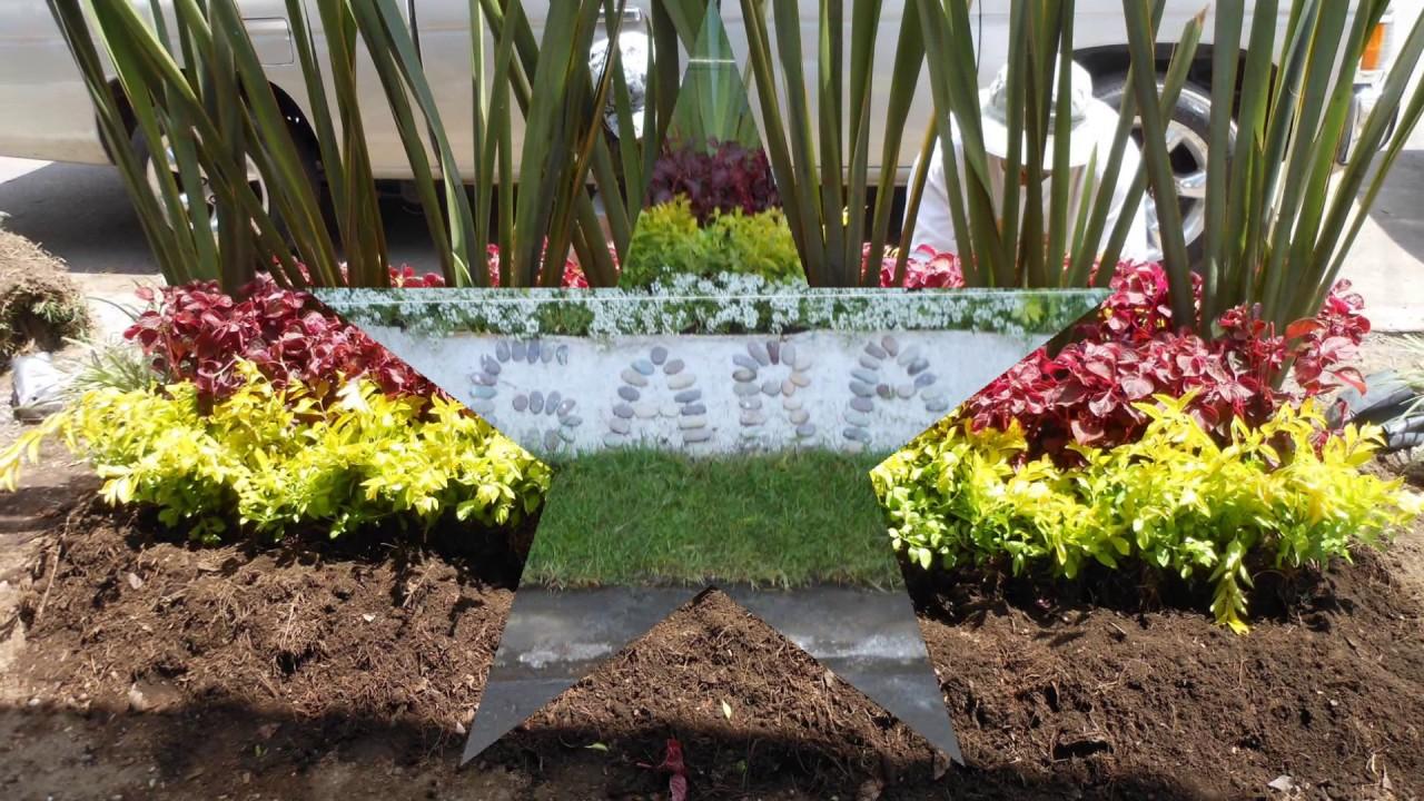 Jardinera con plantas de exterior youtube for Adornos con plantas de nochebuena