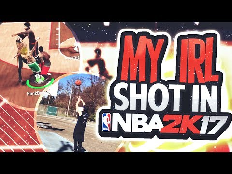 Shooting w/ my IRL Jumpshot in NBA 2K17 • Is My Jumpshot Wetter Than Steph Curry's😱😱