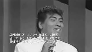 """나훈아 북녁의 봄 """"北国の春 (키타구니노하루)"""""""