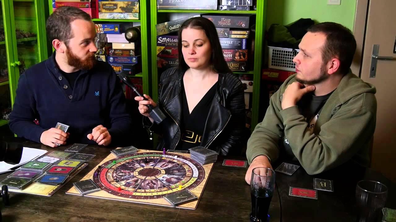 Das Schwarze Auge: Orkensturm - Brettspiel Vorstellung und Let's Play (Teil 1)