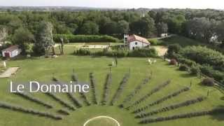 Domaine Michel et Marie Camargue vu du ciel en drone