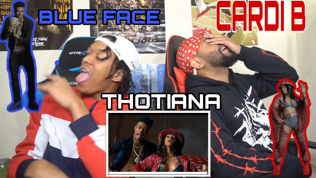Download BUST IT DOWN CARDIANA 😍🙈Blueface - Thotiana Remix ft. Cardi B | FVO Reaction