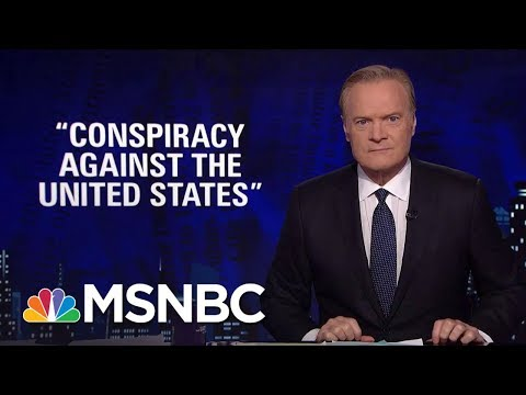Lawrence: Trouble For Donald Trump As Ex-Aide Cooperates With Robert Mueller   The Last Word   MSNBC