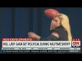 Super Bowl 51 Lady Gaga Anheuser Busch plan to be political and surprising will there be drones