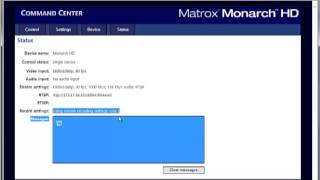 Matrox Monarch HD - Nur FAT32-Recording auf USB