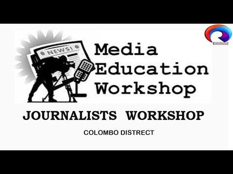 COLOMBO  DISTRICT JOURNALIST WORKSHOP