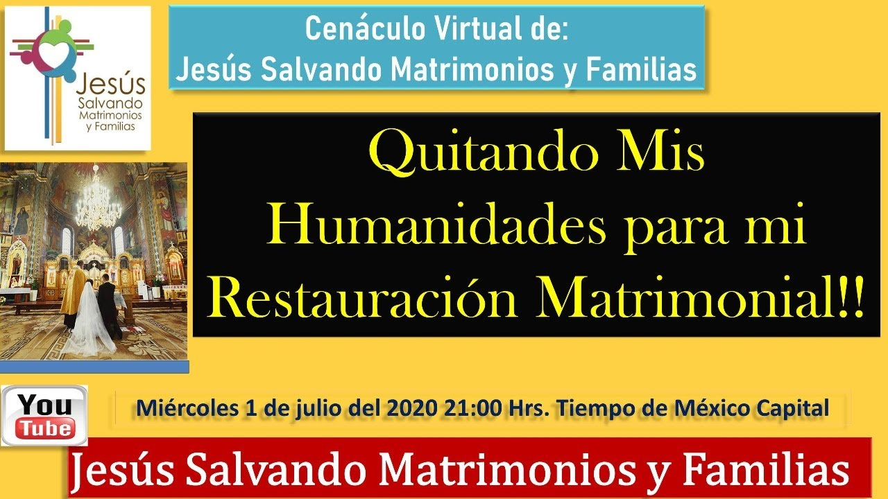 #Quitando Mis Humanidades para mi Restauración Matrimonial