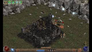 [Diablo II Le Royaume des Ombres] Necromancer Silent Playthrough Act 1 Part 4
