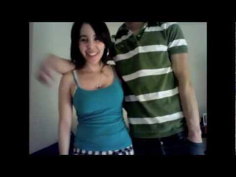 Asian latina couple
