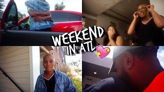 WEEKEND VLOG   ATL Trip: Visiting my Homegirl and Boyfriend 💕