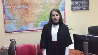 Роксолана Кожевникова Обучение и стажировка в США