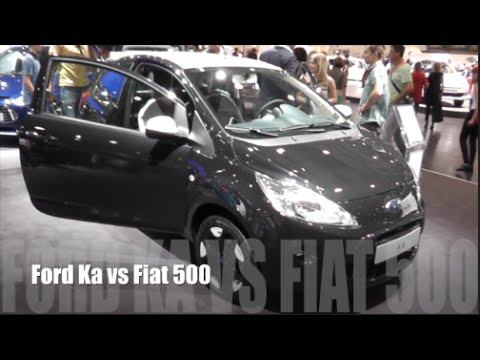 Ford Ka  Vs Fiat
