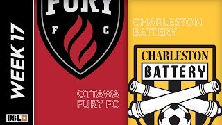 Ottawa Fury FC vs. Charleston Battery: June 26th, 2019