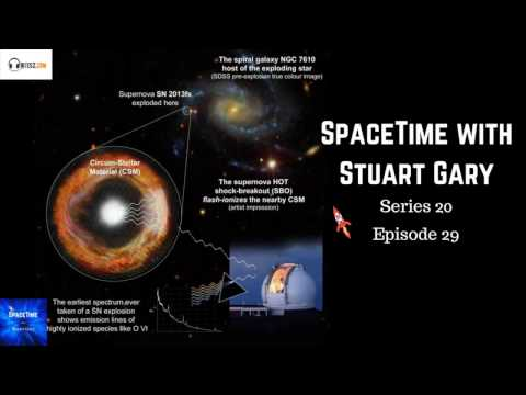 New warning signs for supernovae discovered - SpaceTime with Stuart Gary S20E29