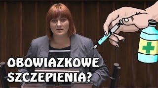 """Justyna Socha: """"To jest cenzura! W Polsce nie można rozmawiać o ciemnej stronie szczepień!"""""""