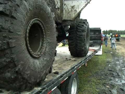 6 second run of 1000 Horsepower mud buggy - Gopher Dunes Mudfest