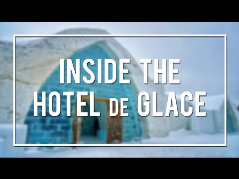 INSIDE the ICE HOTEL in QUEBEC CITY!