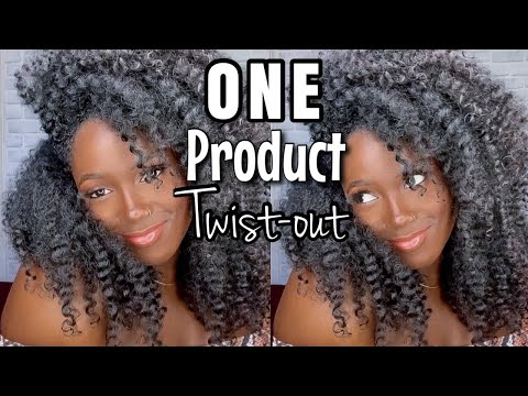 YASSSS!!I Finally Mastered a TWISTOUT!!ONE PRODUCT TWISTOUT on Natural Hair!