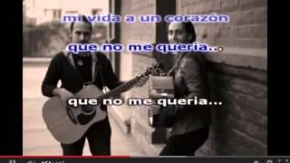 No me quería - Los Vasquez- Karaoke