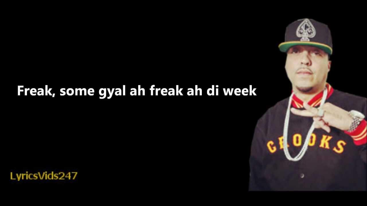 French Montana : Freaks (Explicit) ft. Nicki Minaj lyrics
