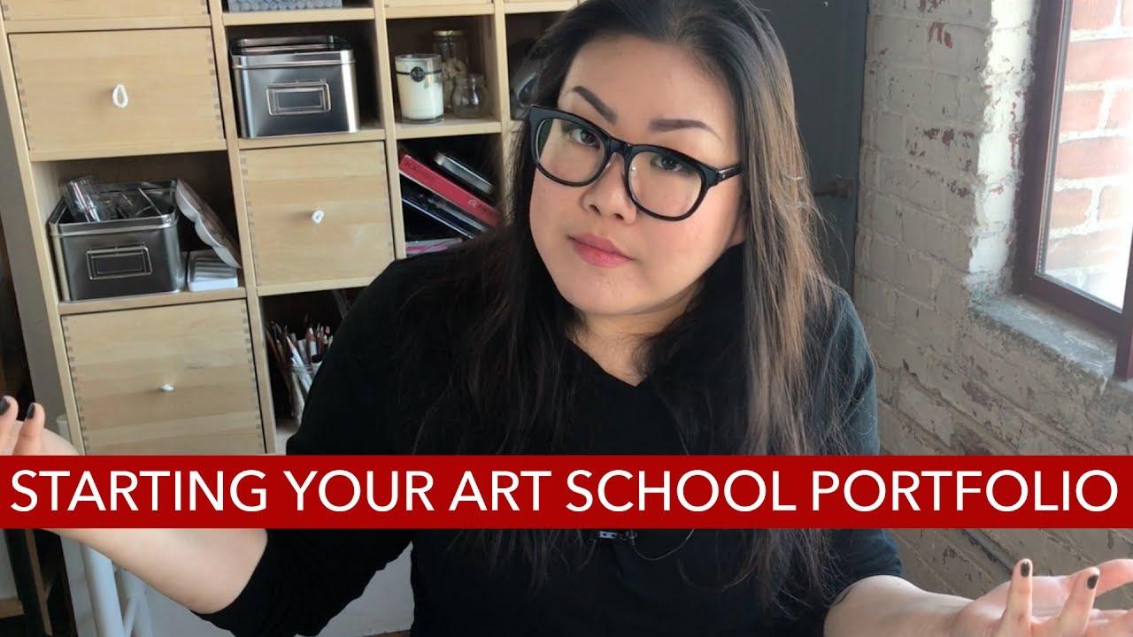 how to start your art school portfolio youtube. Black Bedroom Furniture Sets. Home Design Ideas