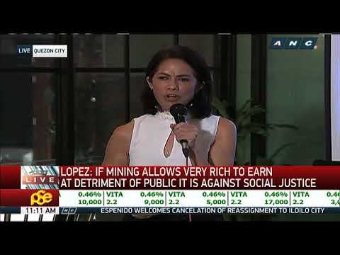Gina Lopez: Open-pit mining a 'liability' to gov't