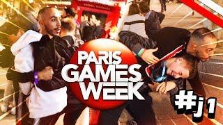 PARIS GAMES WEEK JOUR 1: GROSSE BASTON, MICHOU ET MOI VS GAMEMIXTREIZE !